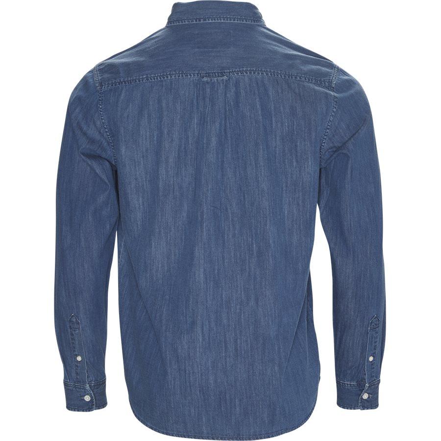 L/S CIVIL SHIRT I012382. - L/S Civil Shirt - Skjorter - Regular - BLUE STONE WASHED - 2